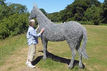 Rievaulx Terrace horse 2 for NL